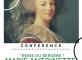 Conférence sur Marie Antoinette Les Templitudes Garches