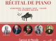 Récital de piano  Les Templitudes Garches